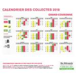 calendrier collecte