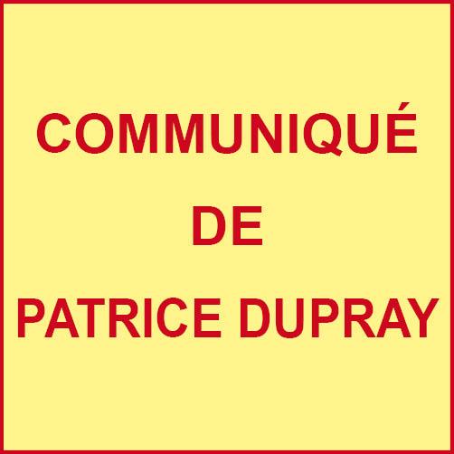 Communiqué de Monsieur le Maire au sujet de la fermeture de «Carrefour Contact»