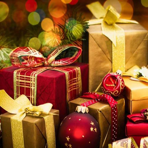 Cadeaux de Noël 2018 aux personnes de 65 ans et plus*