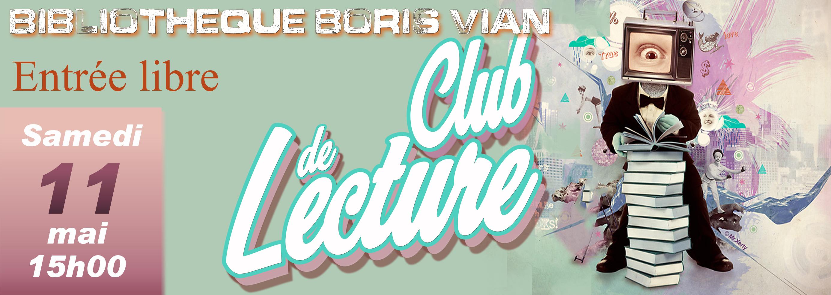 Club lecture 11 mai